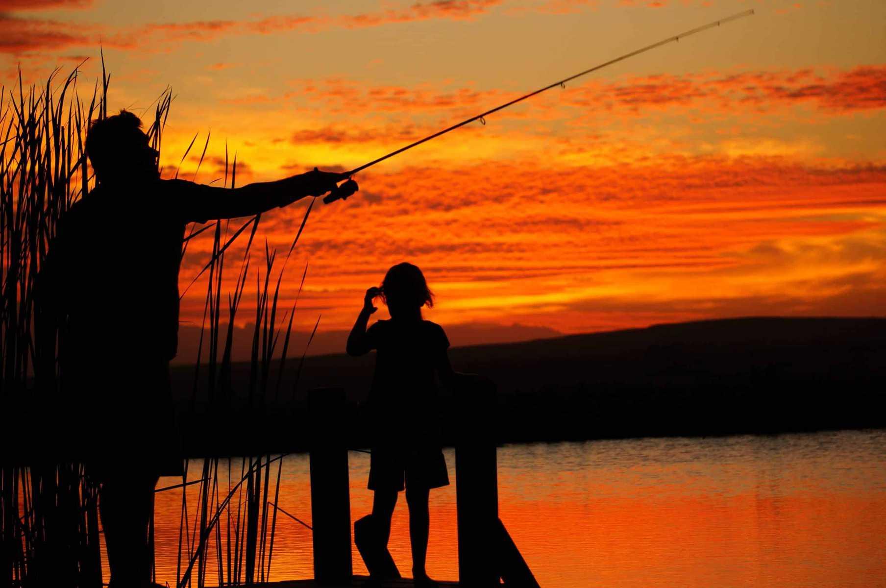 Picnics and fishing